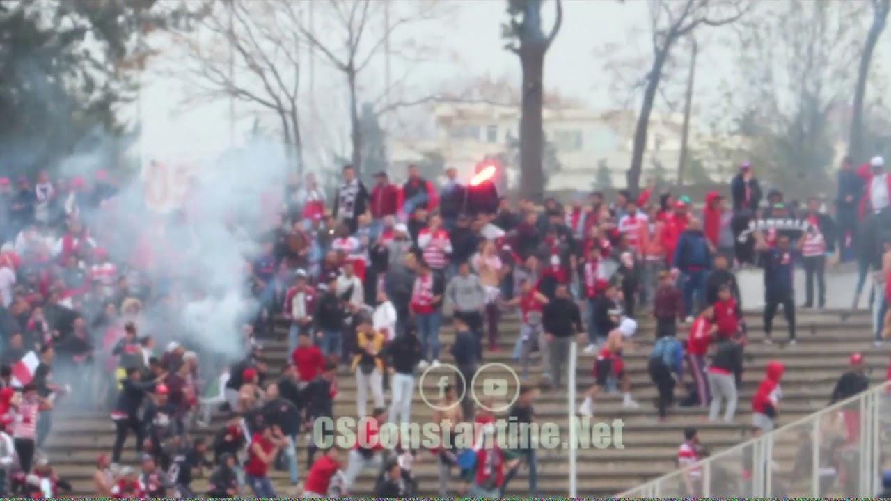 CSConstantine - Club Africain : Violence de certains supporters Tunisiens