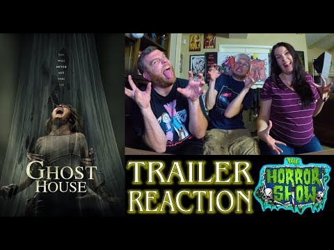 """""""Ghost House"""" 2017 Horror Movie Trailer Reaction - The Horror Show"""