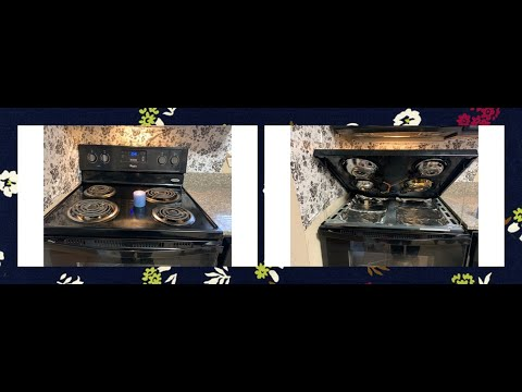 usa kitchen electric burner cleaning# nri mom kitchen cleaning