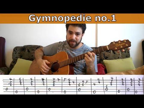 Tutorial: Gymnopedie no. 1 (Erik Satie) - Guitar Lesson w/ TAB