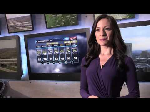 Cleveland 19 News meteorologist Samantha Roberts