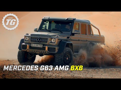Mercedes G63 AMG 6×6 Review – Top Gear – Series 21 – BBC