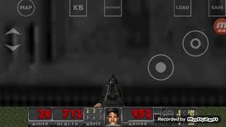 残忍な運命 game play  on  android brutal doom