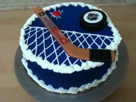 Hockey Cake Decorating Ideas