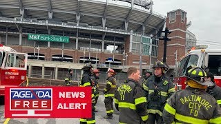 Man Killed in Ravens Stadium Porta-Potty - LIVE COVERAGE