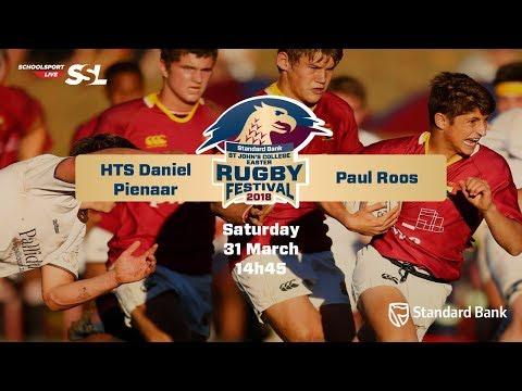 St John's Rugby Festival 2018 - HTS Daniel Pienaar vs Paul Roos, 31 March