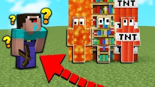 MINECRAFT NOOB PLAYS HIDE N