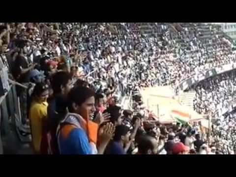 'Sachin Sachin' Chant during Sachin Tendulkar's final Test at Wankhede Stadium in 2013.