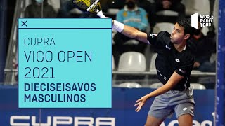 Resumen dieciseisavos de final (turno 2) Cupra Vigo Open 2021 | World Padel Tour