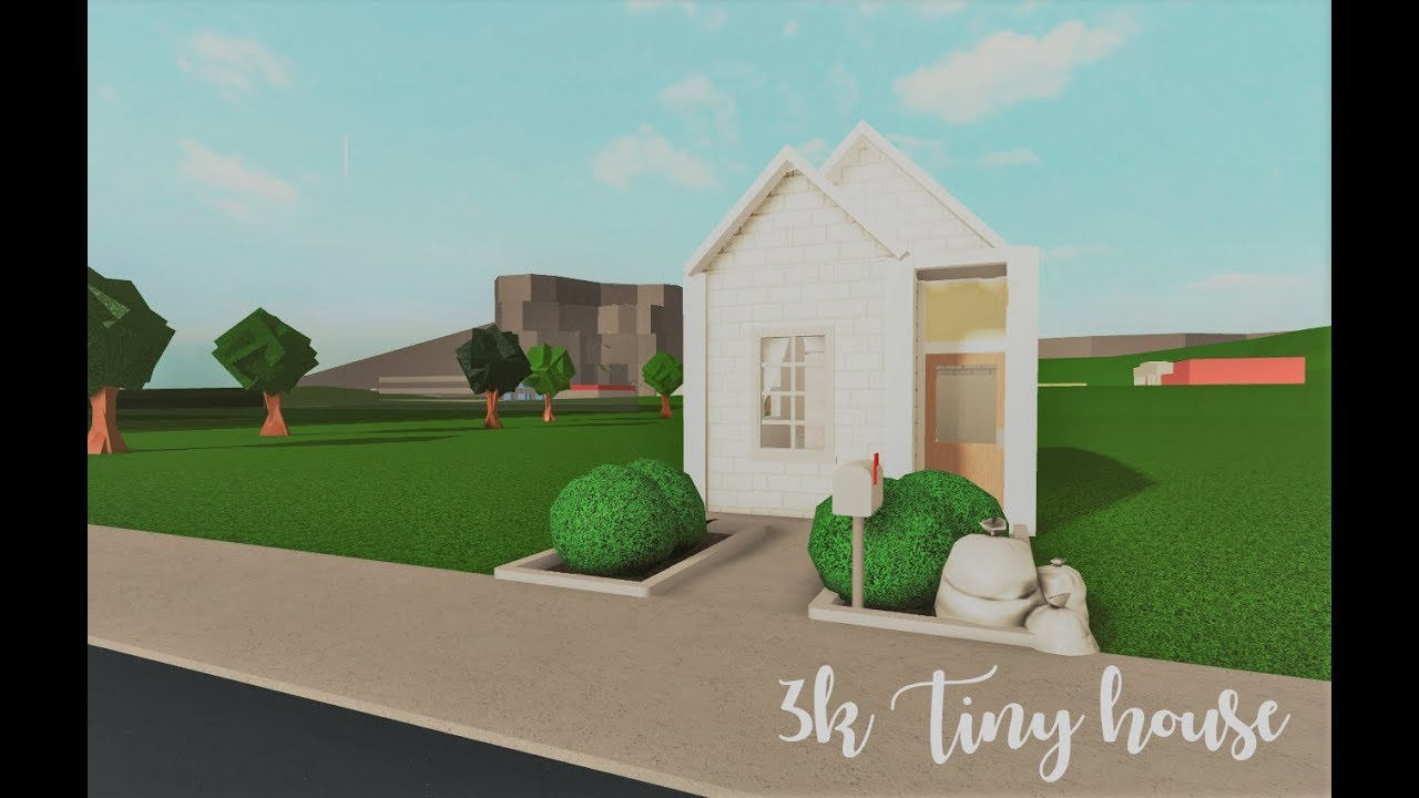 Bloxburg 3k Tiny House Youtube