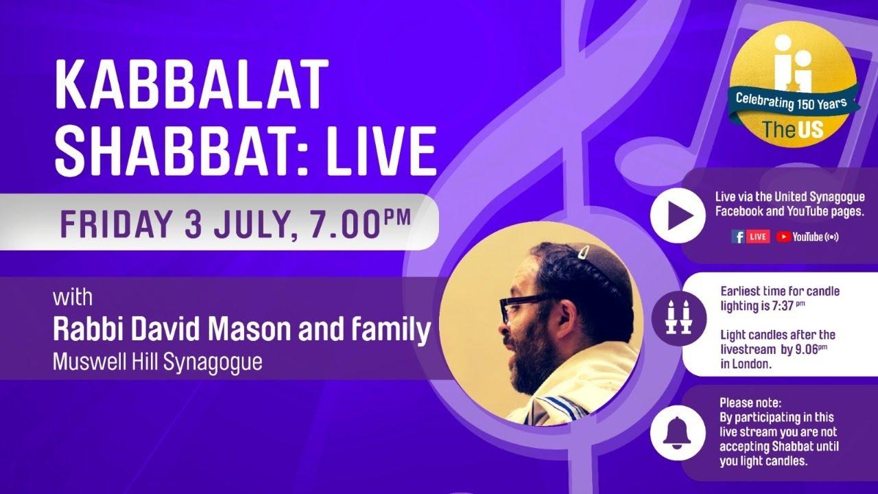 Kabbalat Shabbat: Live!
