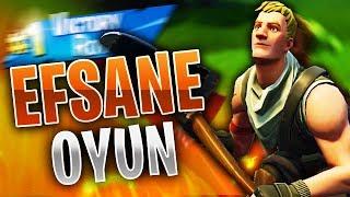 EFSANE OYUN! (Türkçe Fortnite)