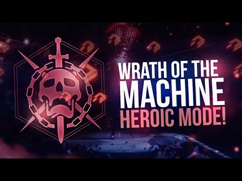 Destiny: WRATH OF THE MACHINE HEROIC MODE RUN! COMPLETE RAID WALKTHROUGH!