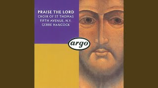Rorem: Praise the Lord, O my soul (Psalm 146)
