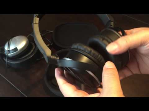 Koss QXPro Quietzone Vs Audio Technica ATH-ANC27 Inexpensive Noise Cancellation Headphones Review