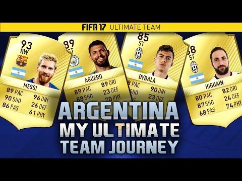 FIFA 17 LIVE - My FUT Journey - #57 - ARGENTINA SQUAD!