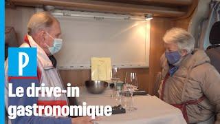 Covid-19 : un restaurant belge sert ses clients dans leurs camping-cars