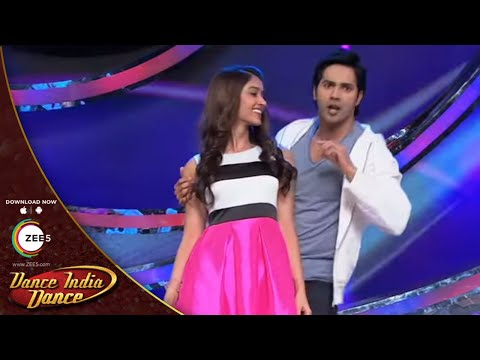Ileana and Varun Dhawan Perform On Hero | DID Lil Masters 3