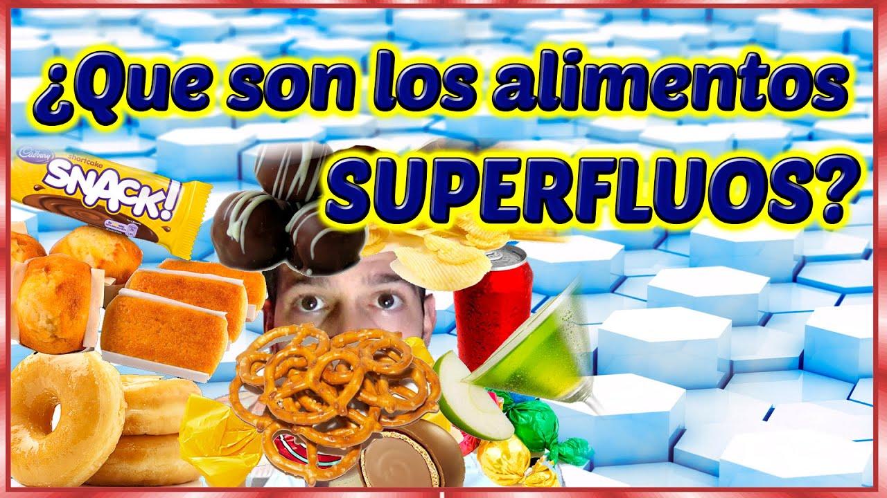 Vlog que son los alimentos superfluos youtube - Que alimentos son antioxidantes naturales ...
