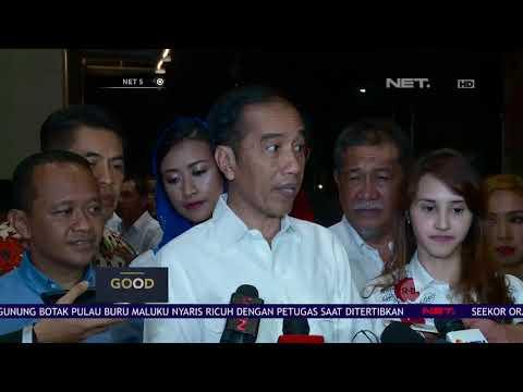 Presiden Jokowi Himbau Tim Agar Tidak Lakukan Politik Kebohongan Pada Rapat Kampanye Nasional- NET 5