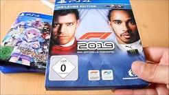 Unboxing ~ F1 2019 Jubiläums Edition & Super Neptunia RPG ~ PlayStation 4 (German)