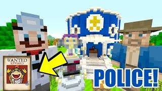 Minecraft | Nintendo Fun House | POLICE ARE LOOKING FOR BOWSER JR! [339]