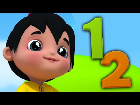One Two Buckle My Shoe |  Rhyme For Kids | 3D Nursery Songs | Kids Poem | Song For Kids | Kids Music