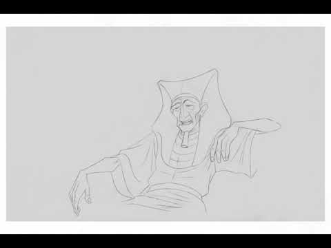 Prince of Egypt Pencil tests