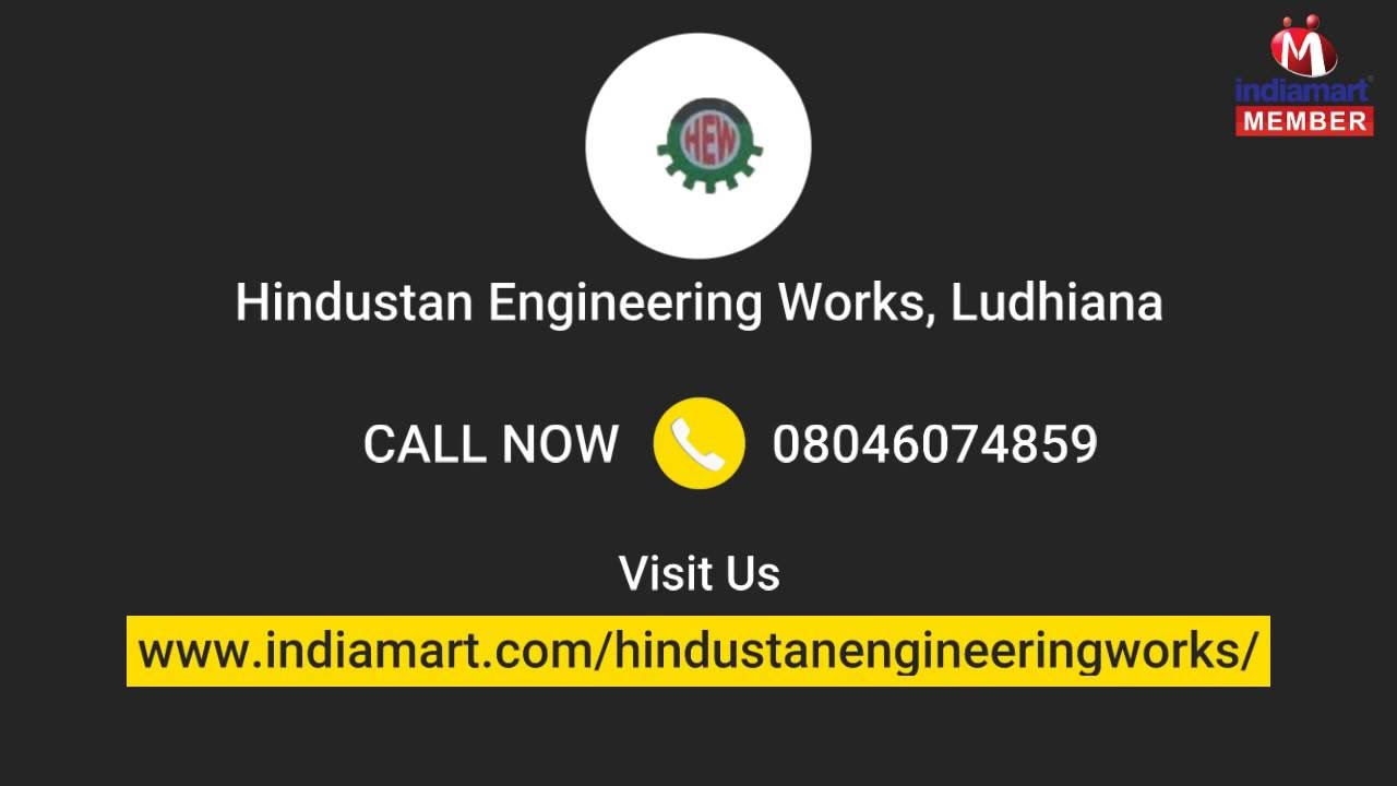 High Class Circular Knitting Machine By Hindustan Engineering Works
