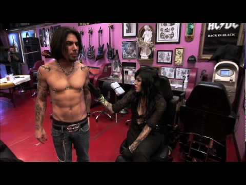 LA Ink - Dave Navarro from Jane's Addiction