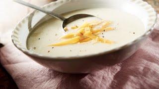 Easy Cauliflower Cheddar Soup | 2014 Milk Calendar