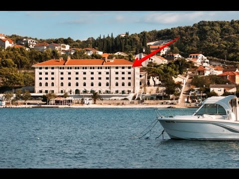 Amazing brown beach house hotel croatia