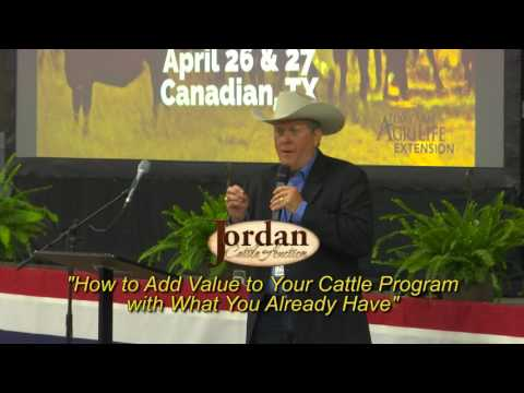 Ken Jordan of Jordan Cattle Auction April 2016