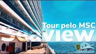 Se eu não consegui ver o navio todo em uma semana, imagina filmar t...