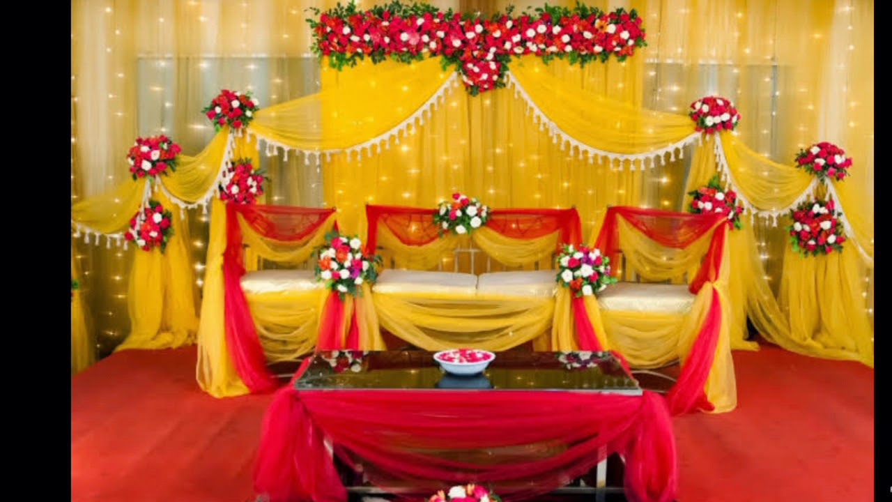 Bangladeshi Holud Stage Decoration Ideas Youtube
