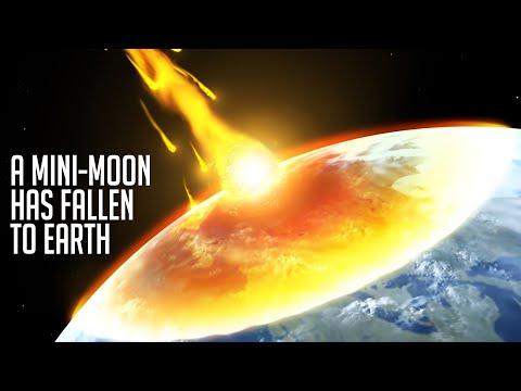 A Mini Moon Has Fallen To Earth