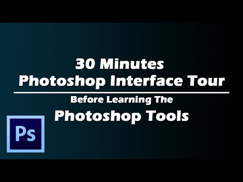 30 minutes photoshop interface tour for better experience