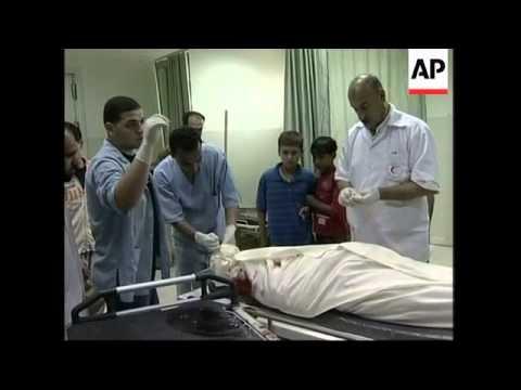Doctors say 2 Palestinian militants killed, 2 injured in Israeli airstrikes