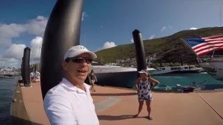 Episode 11 Bvi to St  Martin take 1 Leopard Catamaran 48