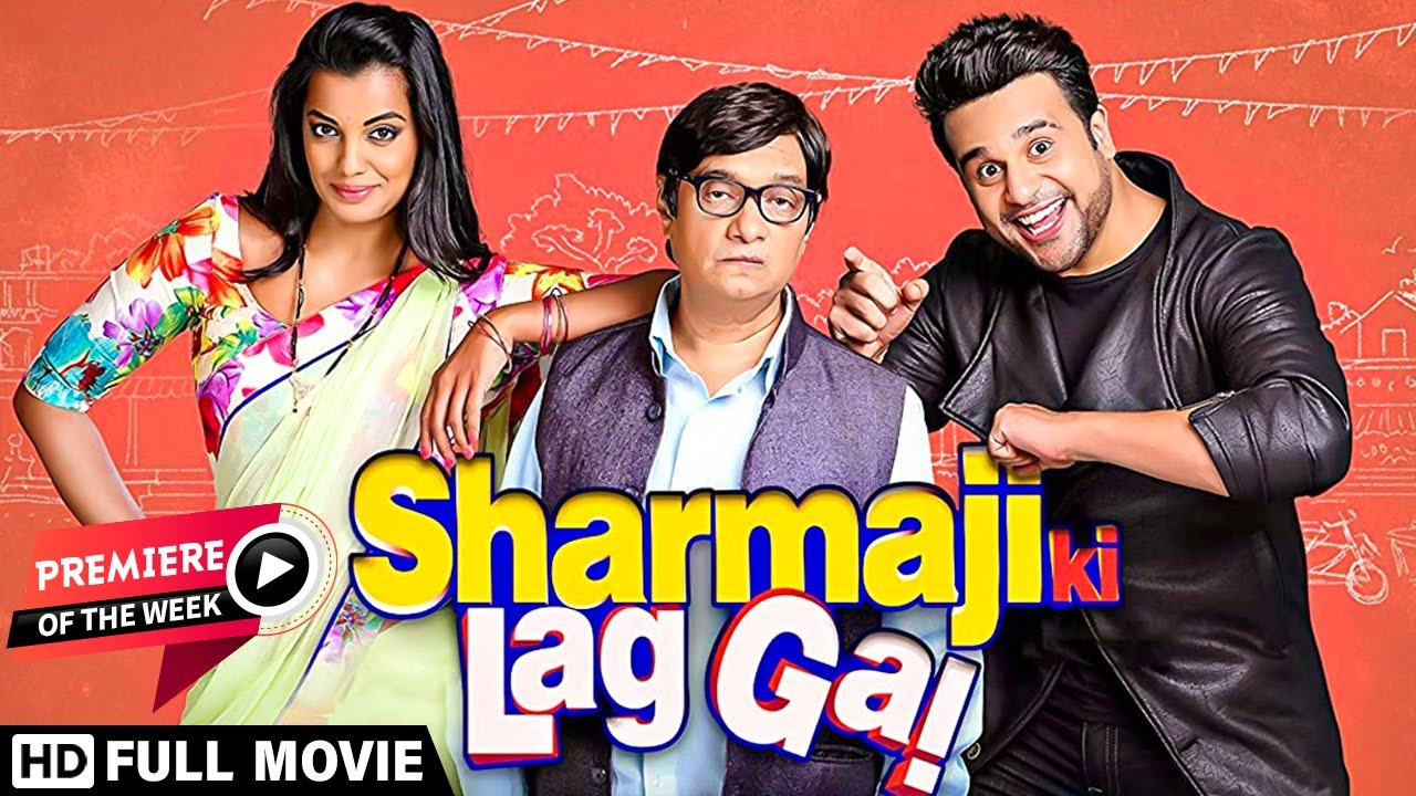 Download Sharmaji Ki Lag Gayi (2019) | Krushna Abhishek | Mugda Godse | Bijendra Kala | Hindi Comedy Movie
