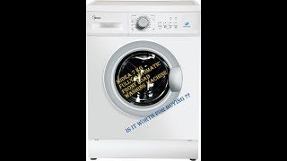 Midea 7 kg Fully Automatic Front Load Washing Machine - Review