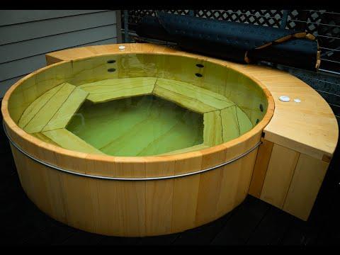 Alaskan Yellow Cedar Hot Tub Construction