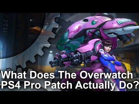 Overwatch: PS4 Pro vs PS4/PC Graphics Comparison/Frame-Rate Analysis
