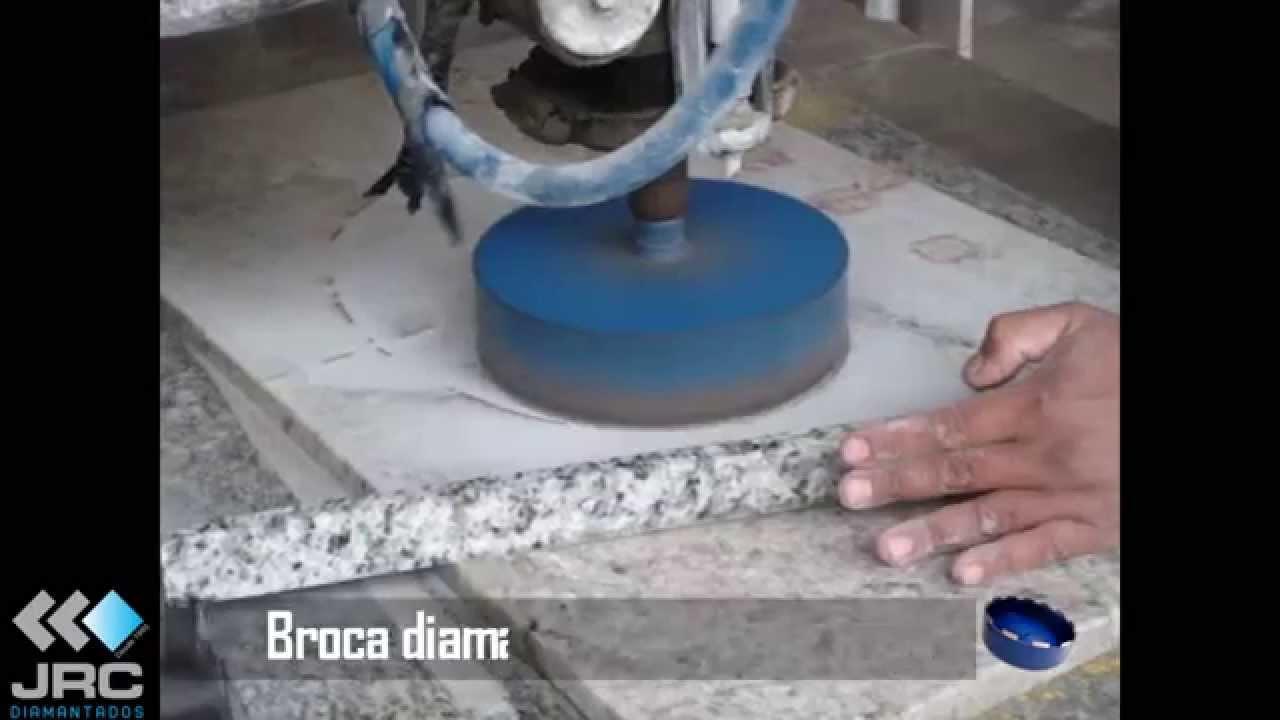 Corte furo marmore granito e lavat rio jrc diamantados for Tipos de granito para mesada