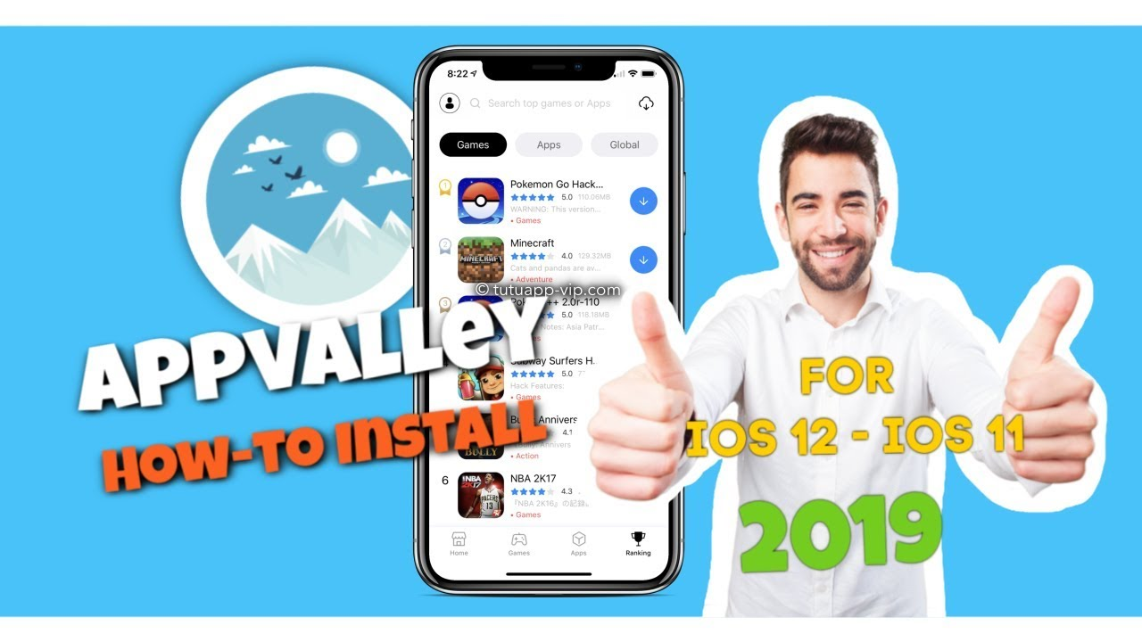 AppValley iOS 11 - iOS 11 4 1 Download