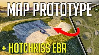New Map Prototype • Hotchkiss EBR with BOOST ► World of Tanks News - Update 1.4+