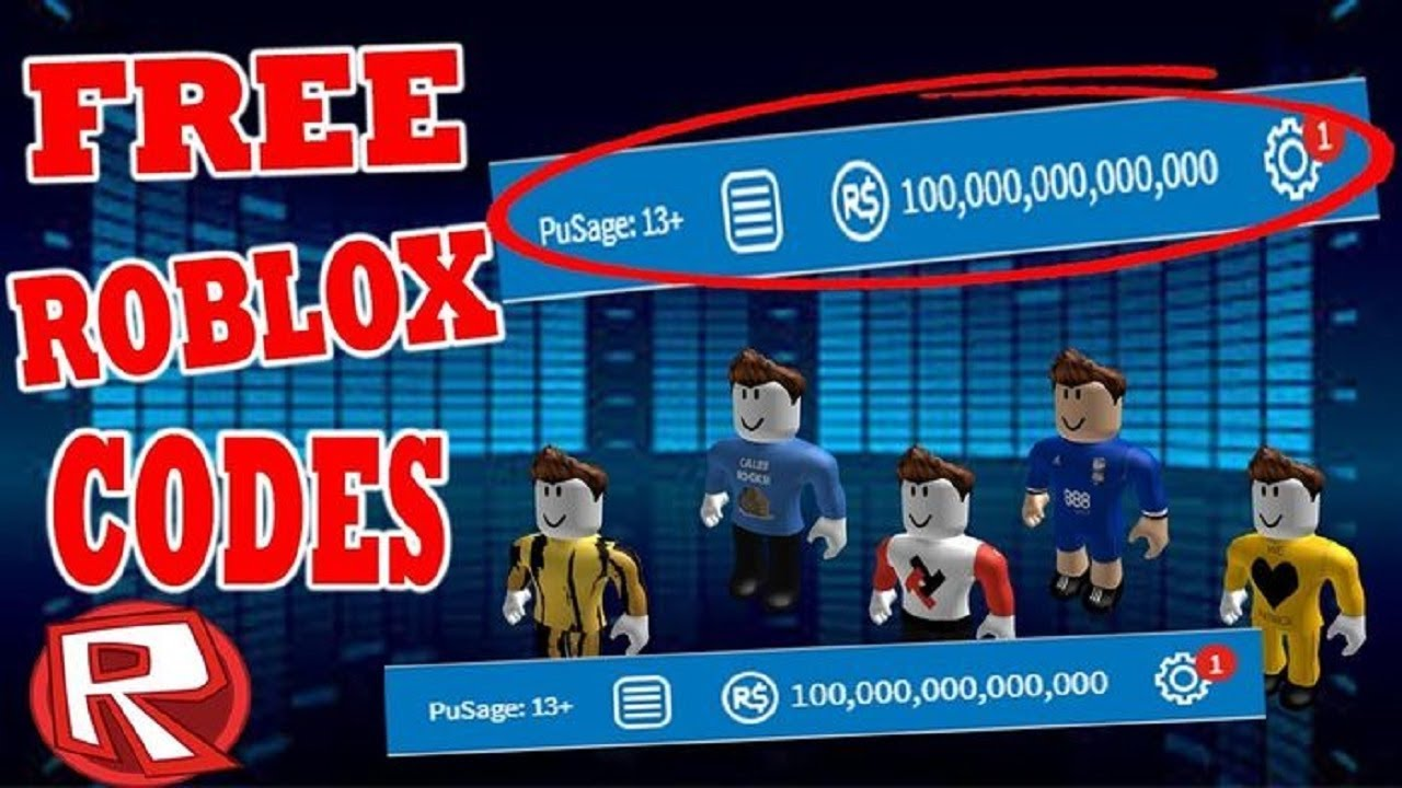 ROBLOX PROMO CODES 2019-GET FREE ROBUX-FREE CODES FOR ...