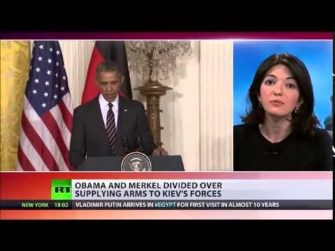 OBAMA, Merkel DISPLAY 'Tactical DISAGREEMENTS' Over UKRAINE