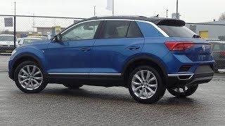 Volkswagen NEW T-Roc 2018 Style Ravenna Blue Metallic 18 Inch