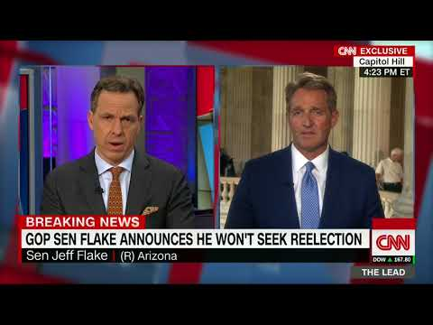 Jeff Flake explains decision to retire (Full interview with Jake Tapper)